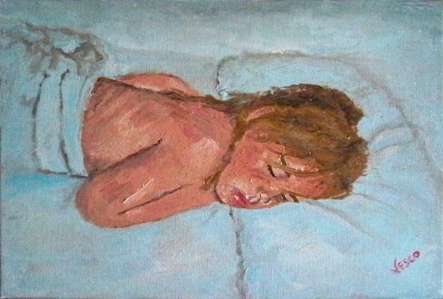 Gioia. Painting | Vittorio Francisco Art